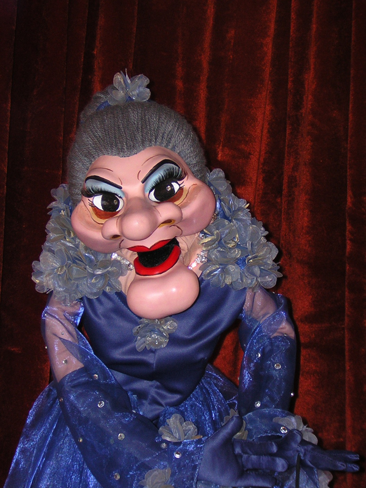solid gold madame puppet